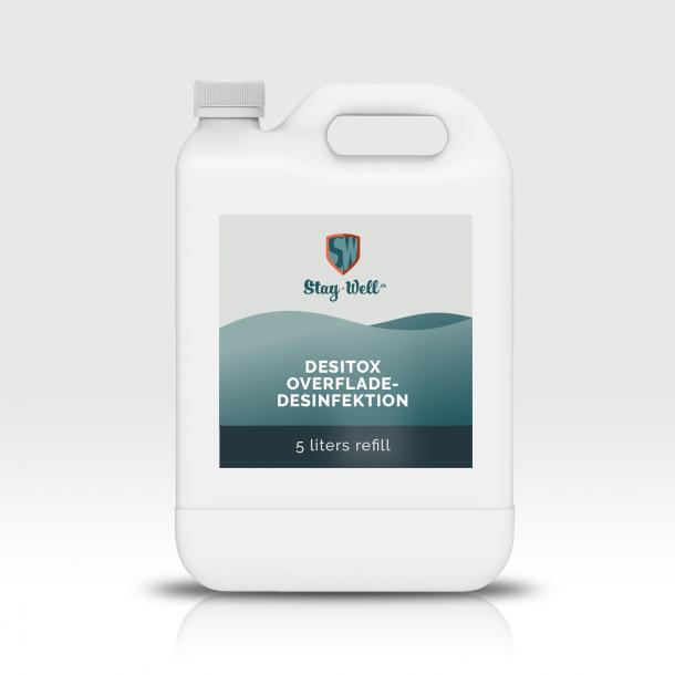 Overfladedesinfektion (hospitalssprit) 70%, 5 liter
