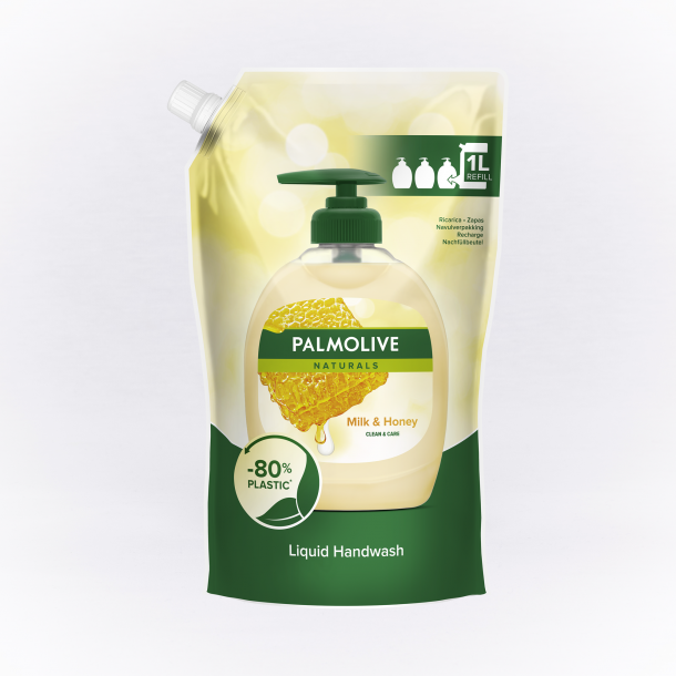 Palmolive Milk and Honey, parfumeret, 1 liter