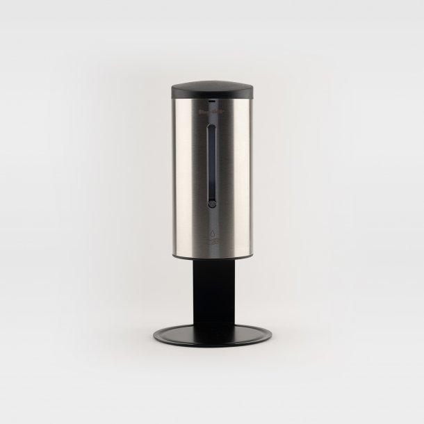 Dispenser - håndsprit (gel), sæbe. Berøringsfri. Til bord / disk. Regulerbar mængde. Genopfyldelig.